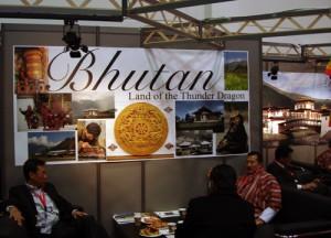 Bhutan Stand auf der ITB 2009