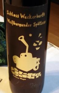 Weißburgunder Spätlese 2007