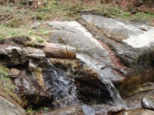Quellwasser aus den Bergen Bhutans