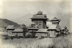 Bhimakali-Tempel von Sarahan 1909