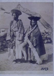 Hochzeitspaar in Leh 1875? Quelle:Unitäts-Archiv