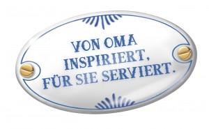 Emaille Schild ohne Schatten RZ RGB 300x185 Soll wie bei Oma schmecken   Bahn macht kulinarisch mobil