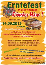 Erntefest am Räucher-Häusl 2013