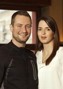 """""""Koch des Jahres 2011"""" und Sternekoch Sebastian Frank übernimmt mit seiner Partnerin Jeannine Kessler das Restaurant HORVÁTH."""