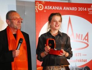 Askania Award 2014, eine ASKANIA Modell ALEXANDERPLATZ 2712
