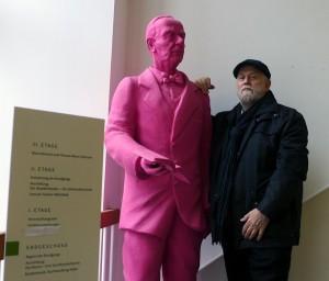 Im Buddenbrookhaus traf M.P. Thomas Mann