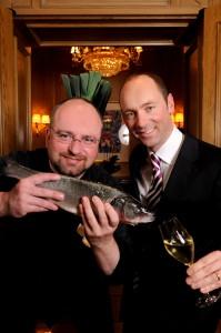 Chef de Cuisine Christian Lohse, GM Stefan Athmann
