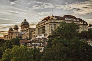 as Hotel Bellevue Palace Bern. Copyright: BELLEVUE PALACE Bern